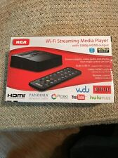 RCA WI-FI STREAMING MEDIA PLAYER 1080P HDMI DSB772WE PACKAGE HAS NO INSTRUCTION