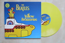 THE BEATLES Yellow Submarine UK yellow vinyl LP in gatefold sleeve 1999