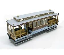 "Elegant, finely detailed model tram kit by OcCre: the ""San Francisco Cable Car"""
