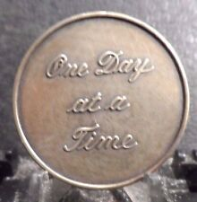 "PREOWNED MEDALLION OF ""ONE DAY AT A TIME/PRAYER"" !!!!!"