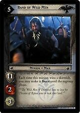 Lord of the Rings CCG Two Towers 4C4 Band of Wild Men X2 LOTR TCG