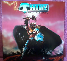 THOR only the strong [NMINT FIRST PRESS LP 1985 ] Heavy Load Omen Shok Paris