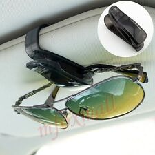 Interni auto Accessori Sun Visor Occhiali Occhiali CLIP CAR HOLDER NERO