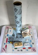 Stock Block Atlanta Edition Board Game Vintage 1970s Rare