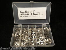 Metric Wave / Curve Washers Assortment 290pc A2 / 18-8 Stainless Steel Din137B