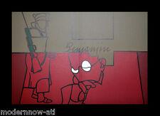 Valerio ADAMI ORIGINAL Lithograph LIMITED 17/150 Vélin d'Arches 38x56cm +FRAMING