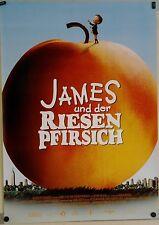 (Gerollt) Kinoplakat - James und der Riesenpfirsich (1996) #321