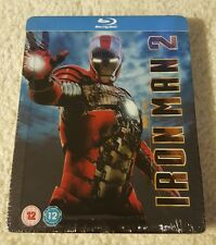 Iron Man 2 Blu-ray Steelbook. Play.com Exclusive. OOP and Rare. New and sealed