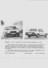 "MERCEDES Benz Classe S PRESS PHOTO SETTEMBRE 1972 per 1973 ""brochure"" correlati"