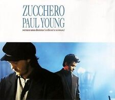 Zucchero Featuring Paul Young ‎Maxi CD Senza Una Donna (Without A Woman) - Eur
