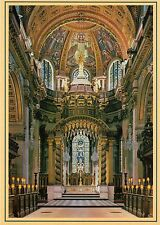 HQ - Postcard -  London  -  St. Paul's Cathedral  -  Altar  -  ungelaufen