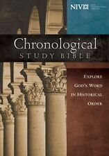 NIV Chronological Study Bible, Hardcover