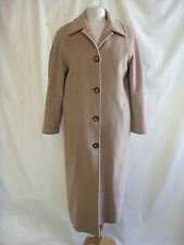 Ladies Coat - Autonomy, size 12, camel, 55% wool/25% angora, soft, smart - 2091
