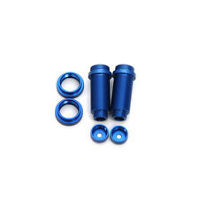 STRC Traxxas Front Big Bore Threaded Shock Bodies Aluminum (Blue) ST3765XB