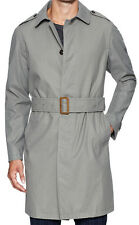 Todd Snyder NY Trench Coat COATED Medium Grey NEW Free US Shipping Reg $1,500