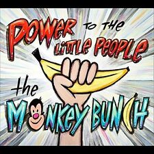 The Monkey Bunch-Power to the Little People CD NEW