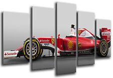 Cuadro Moderno Coche Formula 1, Ferrari F1, Sebastian Vettel, ref. 26553