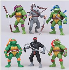 TMNT Teenage Mutant Ninja Turtles Action Figure Display Cake Topper Decor Toy