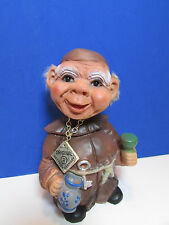 "FRIAR - 6"" German Heico Troll Doll - Very Rare"