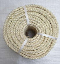 Cat Scratch Parrot Sisal Rope New 25ft x 6mm Diameter