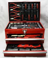 Mannesmann M29066 - Caja de herramientas de taller equipada con155 piezas. NUEVO