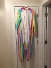 RAINBOW UNICORN KIGURUMI - Adult Costume Sazac Kigurumi Animal Pajamas -USA Ship