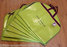 TED BAKER Green & Purple Suit Carrier Bag Cover BNWT