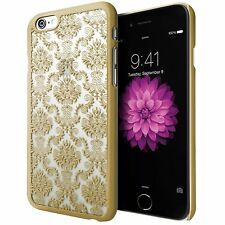 Hard Back Damask Wedding Bridal Lace Case Cover for Iphone Samsung Mobile Phones