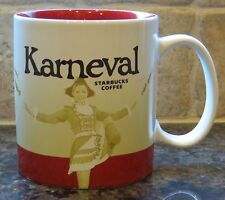 NWT Starbucks 2015 KARNEVAL Germany Global Icon City Collector Series Mug w/SKU