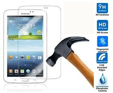 """Genuine Tempered Glass Screen Protector For Samsung Galaxy Tab 3 7.0""""SM-T210/211"""