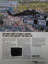 6/1990 PUB ALLIED SIGNAL BENDIX KING ARC-199 OPERATION JUST CAUSE PANAMA AD