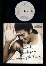 Michael Jackson - Remember The Time - Come Together - 7 Inch Vinyl HOLLAND