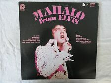 Elvis Presley MAHALO FROM ELVIS    SUPERIOR PLAYBACK!!!   Pickwick LP