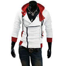NEW Stylish Creed Hoodie men's Cosplay For Assassins Cool Slim Jacket Costume