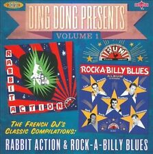 NEW Ding Dong Presents, Vol. 1: Rabbit Action & Rock-a-Billy Blues CD (CD)