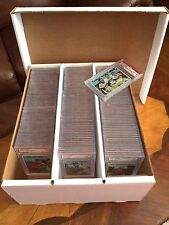 5 Graded Sports Card Storage Boxes - Heavy Duty Holds 195 Cards
