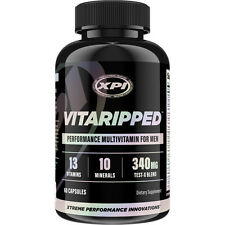 Vitaripped - Performance Multivitamin For Men - Vitamins, Minerals, Virility