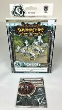 Warmachine Retribution Houseguard Halberdiers (10) PIP 35059 Plastic New Card