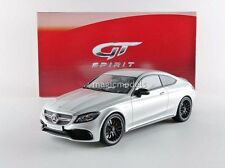 GT Spirit Mercedes Benz AMG C63 S Coupe Silver 1/18 LE of 1500 New! In Stock!