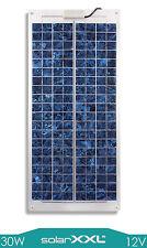 30W Watt Solarmodul Marine 12V Solarpanel Flexibel Boot Yacht Solar solarXXL