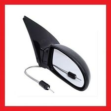 Ford Focus 1998   2005 Black Manual Wing Door Mirror Drivers O/S