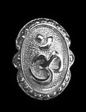 LOOK AUM Om Ganesh Sterling Silver 925 Jewelry Ring Hindu