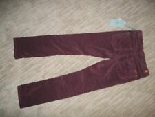 7 FOR ALL MANKIND Skinny Leg ROXANNE Cords Corduroy JEANS Pants Girls Sz 12 $89