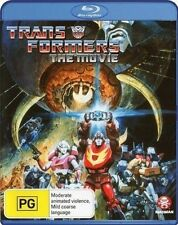 Transformers Animated Cartoon Movie RARE Remastered 1986 Special Cover  BLU-RAY