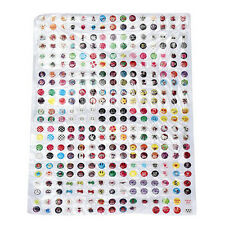 Stylish 330pcs Love Cartoon Rubber Home Button Sticker for iPhone for ipad Decor