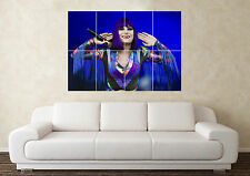 Large Jessie J Guitar Rock Pop Music Bedroom Wall Poster Art Picture Print