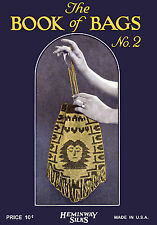 Heminway #2 c.1923 Vintage Patterns to Make Beaded Bags in Crochet & Knitting