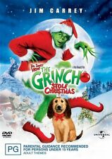 The Grinch (2000) a.k.a. Dr. Seuss' How the Grinch Stole Christmas NEW R4 DVD