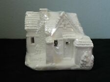 Creative Crafts California Creations 97003 Cobblestone Cottage Unpainted Village