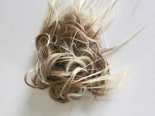 Synthetic Elastic Hair piece Scrunchies Bun Extensions straight